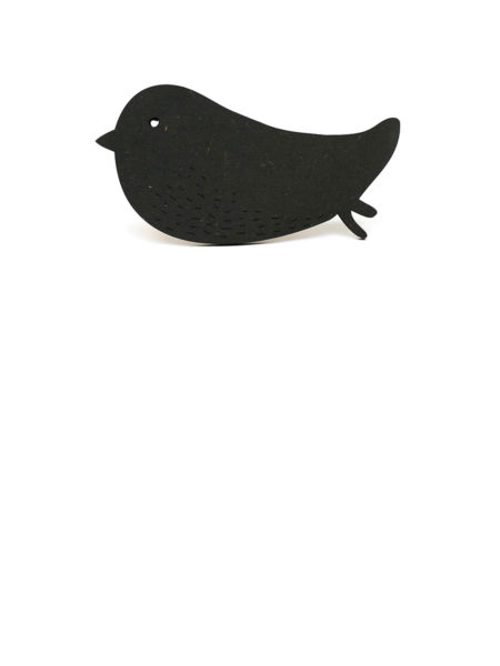 bird black wallhook