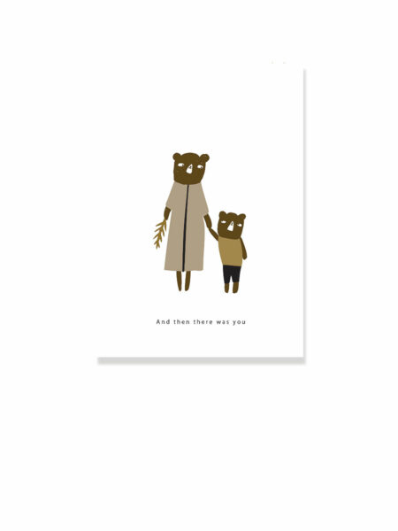 then there was you postcard